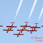 1364 - The RCAF Snowbirds performance at Wings over Waukegan 2012