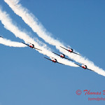 1704 - The RCAF Snowbirds performance at Wings over Waukegan 2012