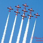 1743 - The RCAF Snowbirds performance at Wings over Waukegan 2012