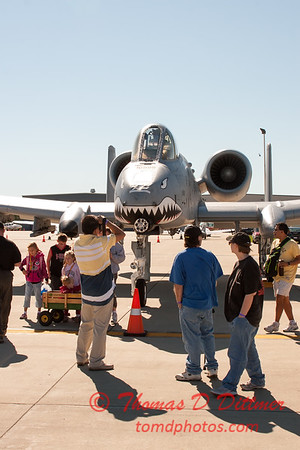 10 - A-10 East - A-10 Thunderbolt II (Warthog) on display at Wings over Waukegan 2012