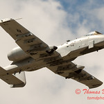 821 - A-10 East flies by Wings over Waukegan 2012