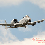 817 - A-10 East flies by Wings over Waukegan 2012