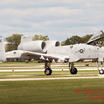 853 - A-10 East arrives at Wings over Waukegan 2012