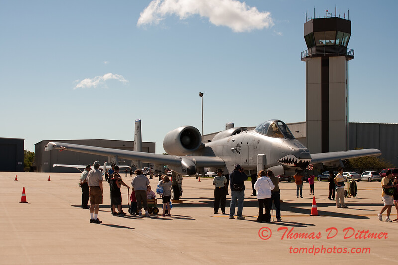 22 - A-10 East Thunderbolt II (Warthog) on display at Wings over Waukegan 2012