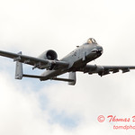 838 - A-10 East flies by Wings over Waukegan 2012