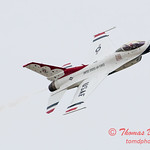1110 - US Air Force Thunderbirds Sunday performance in F16 Fighting Falcons at the 2012 Rockford Airfest - Chicago Rockford International Airport - Rockford Illinois - Sunday June 3rd 2012