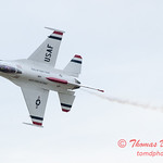1092 - US Air Force Thunderbirds Sunday performance in F16 Fighting Falcons at the 2012 Rockford Airfest - Chicago Rockford International Airport - Rockford Illinois - Sunday June 3rd 2012