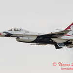 1071 - US Air Force Thunderbirds Sunday performance in F16 Fighting Falcons at the 2012 Rockford Airfest - Chicago Rockford International Airport - Rockford Illinois - Sunday June 3rd 2012