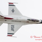 1111 - US Air Force Thunderbirds Sunday performance in F16 Fighting Falcons at the 2012 Rockford Airfest - Chicago Rockford International Airport - Rockford Illinois - Sunday June 3rd 2012