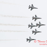 1173 - US Air Force Thunderbirds Sunday performance in F16 Fighting Falcons at the 2012 Rockford Airfest - Chicago Rockford International Airport - Rockford Illinois - Sunday June 3rd 2012