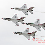 1084 - US Air Force Thunderbirds Sunday performance in F16 Fighting Falcons at the 2012 Rockford Airfest - Chicago Rockford International Airport - Rockford Illinois - Sunday June 3rd 2012
