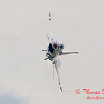 1142 - US Air Force Thunderbirds Sunday performance in F16 Fighting Falcons at the 2012 Rockford Airfest - Chicago Rockford International Airport - Rockford Illinois - Sunday June 3rd 2012