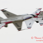 1079 - US Air Force Thunderbirds Sunday performance in F16 Fighting Falcons at the 2012 Rockford Airfest - Chicago Rockford International Airport - Rockford Illinois - Sunday June 3rd 2012
