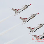 1148 - US Air Force Thunderbirds Sunday performance in F16 Fighting Falcons at the 2012 Rockford Airfest - Chicago Rockford International Airport - Rockford Illinois - Sunday June 3rd 2012