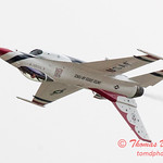 1153 - US Air Force Thunderbirds Sunday performance in F16 Fighting Falcons at the 2012 Rockford Airfest - Chicago Rockford International Airport - Rockford Illinois - Sunday June 3rd 2012