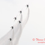 1163 - US Air Force Thunderbirds Sunday performance in F16 Fighting Falcons at the 2012 Rockford Airfest - Chicago Rockford International Airport - Rockford Illinois - Sunday June 3rd 2012