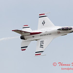 1195 - US Air Force Thunderbirds Sunday performance in F16 Fighting Falcons at the 2012 Rockford Airfest - Chicago Rockford International Airport - Rockford Illinois - Sunday June 3rd 2012