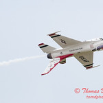 1193 - US Air Force Thunderbirds Sunday performance in F16 Fighting Falcons at the 2012 Rockford Airfest - Chicago Rockford International Airport - Rockford Illinois - Sunday June 3rd 2012