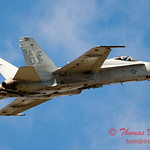 1255 - VFA 106 Hornet East F/A-18 performing at Wings over Waukegan 2012