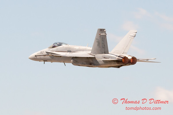 1111 - VFA 106 Hornet East F/A-18 performing at Wings over Waukegan 2012