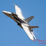 1311 - After Legacy Flight Break-Up, VFA 106 Hornet East F/A-18 flies by Wings over Waukegan 2012