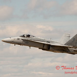 1164 - VFA 106 Hornet East F/A-18 performing at Wings over Waukegan 2012