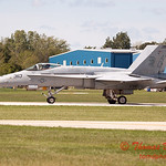 1326 - The VFA 106 Hornet East F/A-18 has landed and will be returning to parking at Wings over Waukegan 2012