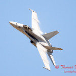 1316 - VFA 106 Hornet East F/A-18 flies by Wings over Waukegan 2012