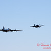 495 - B17 - F4U - TBM - Special Formation Fly By at the South East Iowa Air Show in Burlington Iowa
