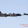501 - B17 - F4U - TBM - Special Formation Fly By at the South East Iowa Air Show in Burlington Iowa