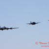 494 - B17 - F4U - TBM - Special Formation Fly By at the South East Iowa Air Show in Burlington Iowa