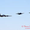 498 - B17 - F4U - TBM - Special Formation Fly By at the South East Iowa Air Show in Burlington Iowa