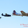 506 - B17 - F4U - TBM - Special Formation Fly By at the South East Iowa Air Show in Burlington Iowa