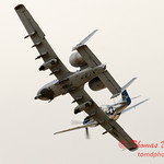 "796 - Vlado Lenoch in his P-51 Mustang and A-10 East in the ""Heritage Break"" at Wings over Waukegan 2012"