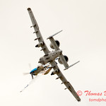 "799 - Vlado Lenoch in his P-51 Mustang and A-10 East in the ""Heritage Break"" at Wings over Waukegan 2012"
