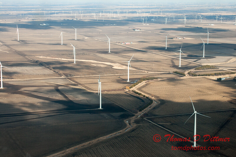52 - Aerial Photo of Ogle & Lee Counties -  North Central Illinois - February 19 2012