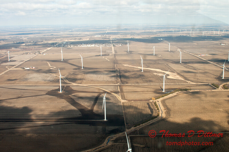 57 - Aerial Photo of Ogle & Lee Counties -  North Central Illinois - February 19 2012