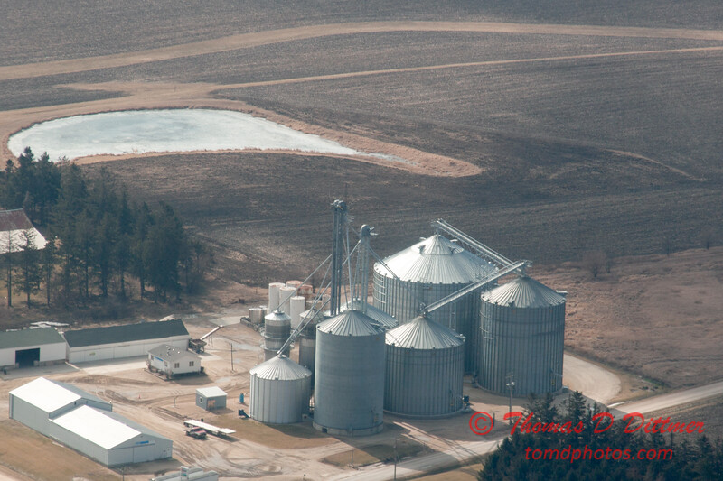 37 - Aerial Photo of Ogle & Lee Counties -  North Central Illinois - February 19 2012