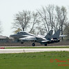 2 - The arrival of a F14 Tomcat completing its last flight -  Bloomington Illinois - April 13 2006