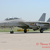 13 - The arrival of a F14 Tomcat completing its last flight -  Bloomington Illinois - April 13 2006