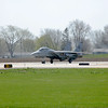 9 - The arrival of a F14 Tomcat completing its last flight -  Bloomington Illinois - April 13 2006