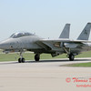 12 - The arrival of a F14 Tomcat completing its last flight -  Bloomington Illinois - April 13 2006