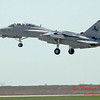 5 - The arrival of a F14 Tomcat completing its last flight -  Bloomington Illinois - April 13 2006
