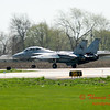 1 - The arrival of a F14 Tomcat completing its last flight -  Bloomington Illinois - April 13 2006
