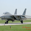10 - The arrival of a F14 Tomcat completing its last flight -  Bloomington Illinois - April 13 2006