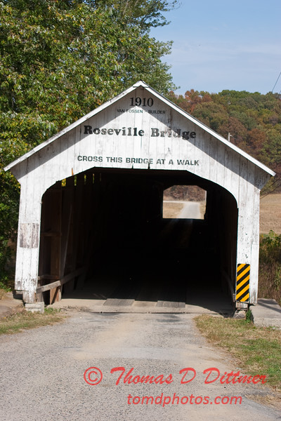 2010 - Covered Bridge Festival (red route) - Parke County Indiana - Monday  October 11th - 64