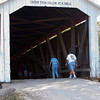 2010 - Covered Bridge Festival (red route) - Parke County Indiana - Monday  October 11th - 9