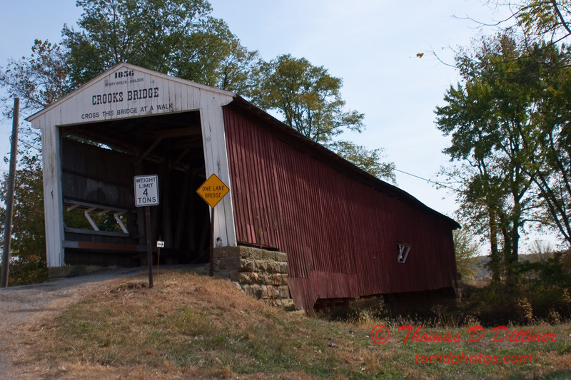 2010 - Covered Bridge Festival (red route) - Parke County Indiana - Monday  October 11th - 31