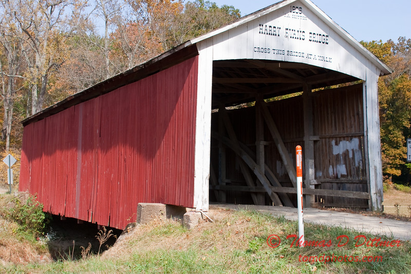 2010 - Covered Bridge Festival (red route) - Parke County Indiana - Monday  October 11th - 72
