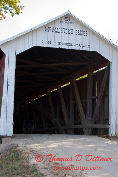 2010 - Covered Bridge Festival (red route) - Parke County Indiana - Monday  October 11th - 10